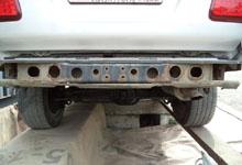 Владивосток. Очистка автомобиля УАЗ.
