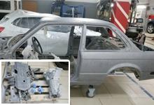 Очистка кузова BMW технологией мягкий бластинг